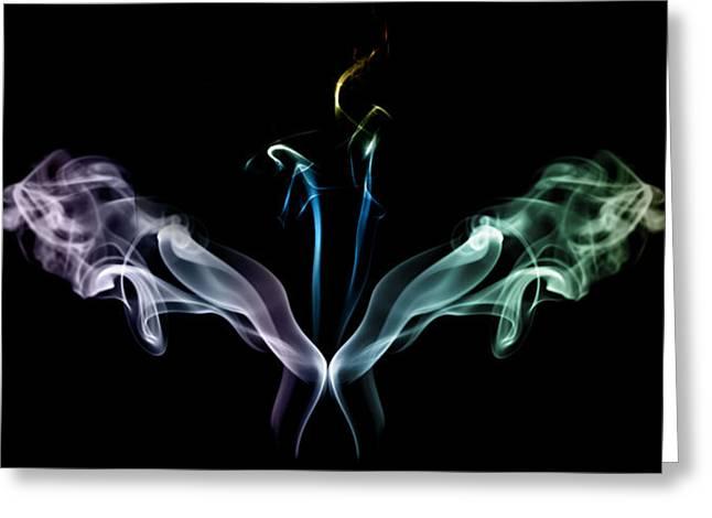Smoke Madness Greeting Card