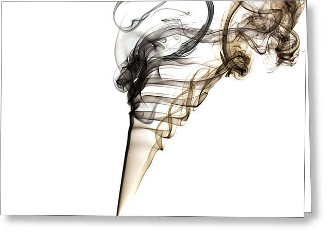Smoke Trails Greeting Card