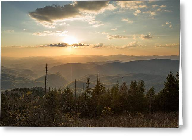 Smokies In Spring Greeting Card by Doug McPherson