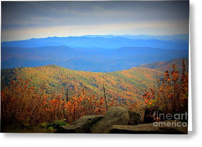 Smokies In The Autumn Greeting Card