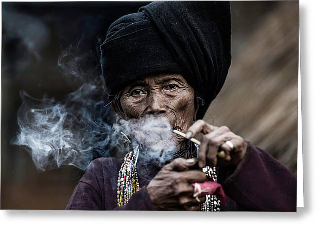 Smoking 2 Greeting Card