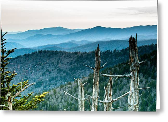 Smoky Mountain Overlook Greeting Card