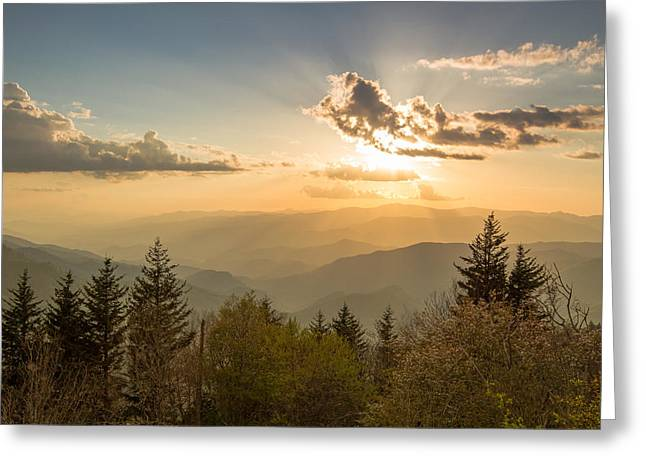 Smoky Mountain Splendor Greeting Card