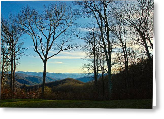Smoky Mountain Splendor Greeting Card by Dee Dee  Whittle