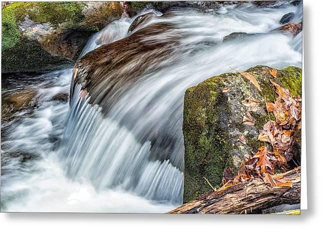 Smoky Mountain Stream 5 Greeting Card