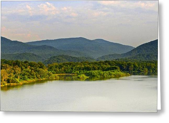 Smoky Mountains Greeting Card by Frozen in Time Fine Art Photography