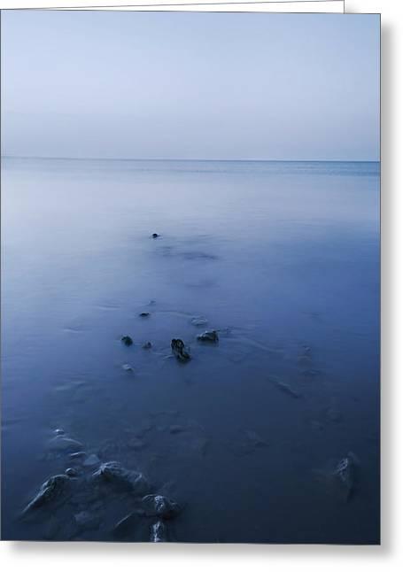 Smooth Sea Greeting Card by Svetlana Sewell