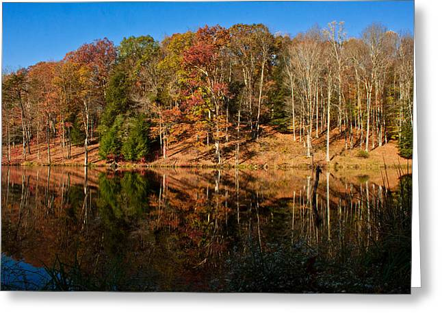 Smooth Water Greeting Card by Haren Images- Kriss Haren