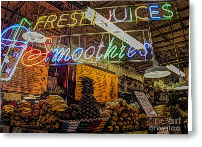 Smoothies Greeting Card