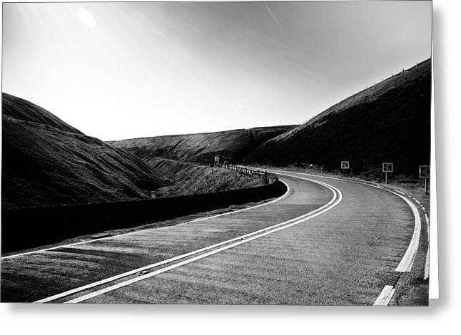 Greeting Card featuring the photograph Snake Pass by Stephen Taylor