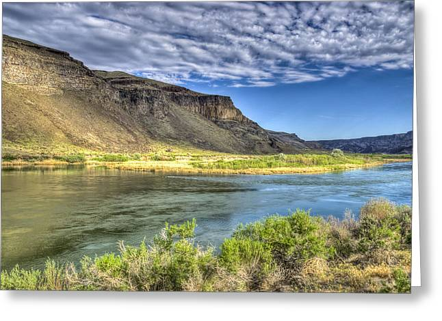 Snake River Afternoon Greeting Card