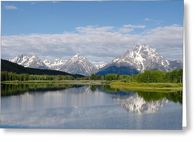 Snake River In Grand Teton  Greeting Card by Gary Wightman