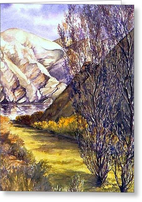 Snake River Landing Greeting Card