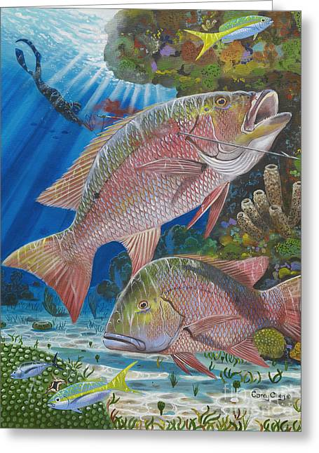Snapper Spear Greeting Card
