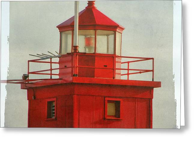 Snapshot Of Red Greeting Card by Michelle Calkins