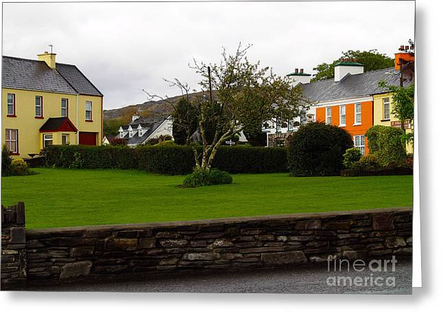 Sneem- Home Of The Blue Bull Greeting Card