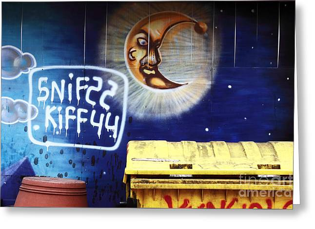 Snif Kiff Greeting Card by John Rizzuto