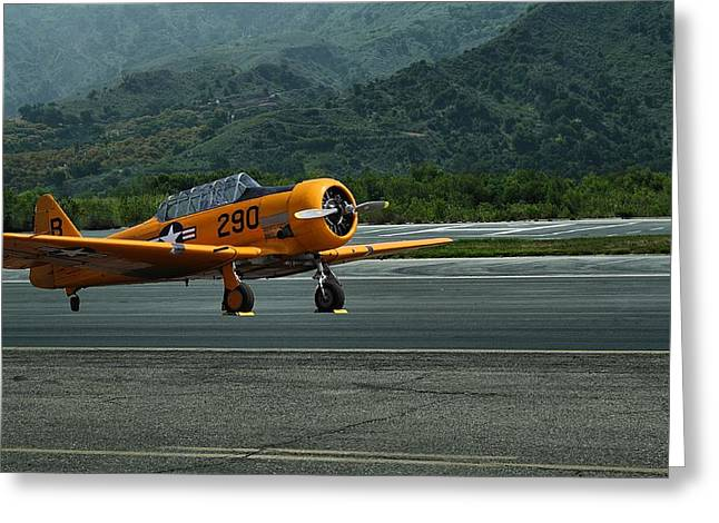Snj-5 T-6 Texan Trainer Greeting Card by Michael Gordon