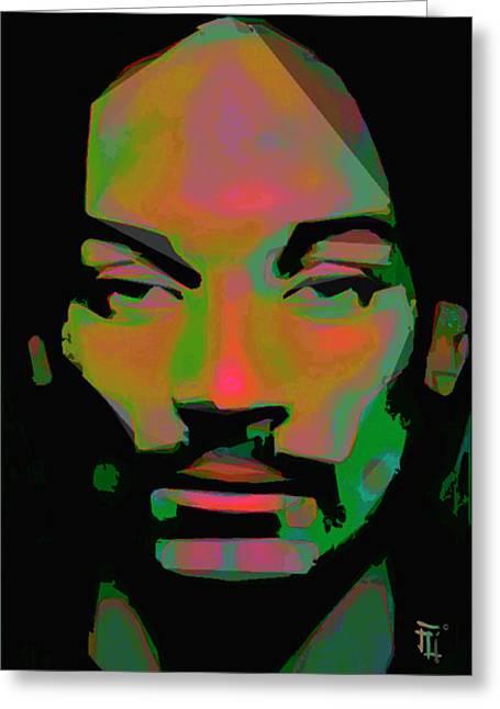 Snoop Lion Greeting Card by  Fli Art