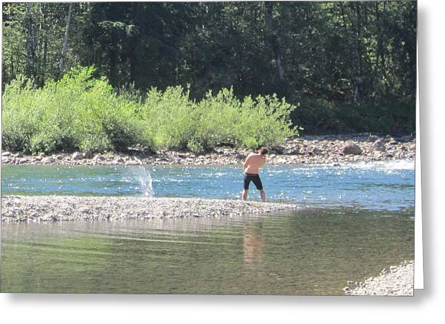 Snoqualmie River 5 Greeting Card