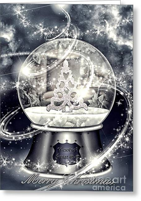 Snow Ball Greeting Card