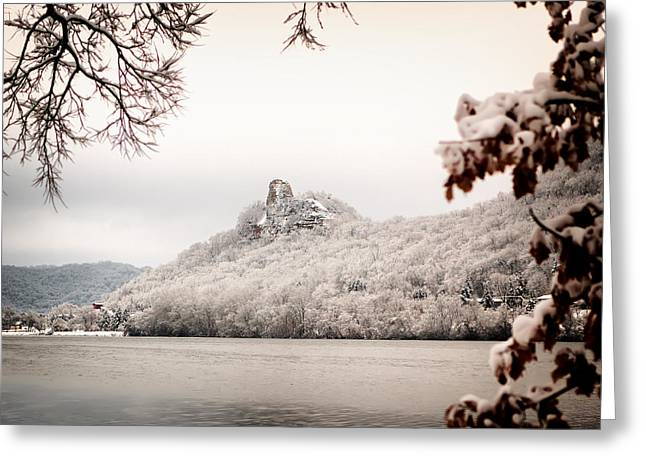 Snow Covered Sugarloaf Greeting Card
