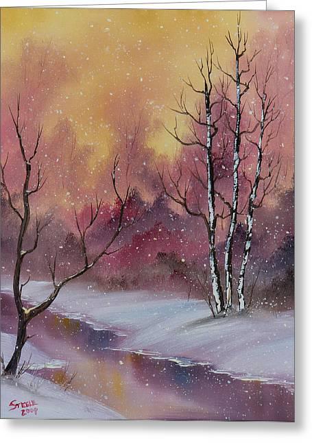 Winter Enchantment Greeting Card