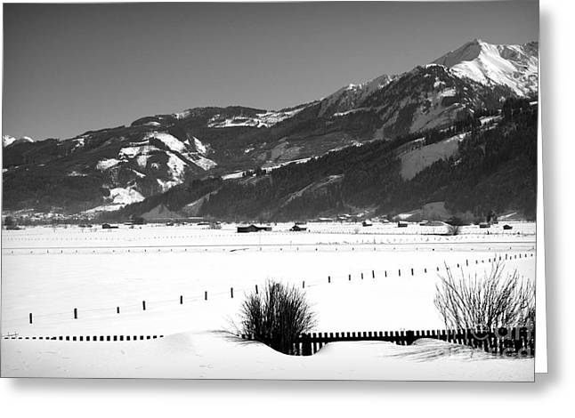 Snow In Piesendorf IIi Greeting Card