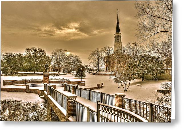 Fayetteville Nc 8 Greeting Card