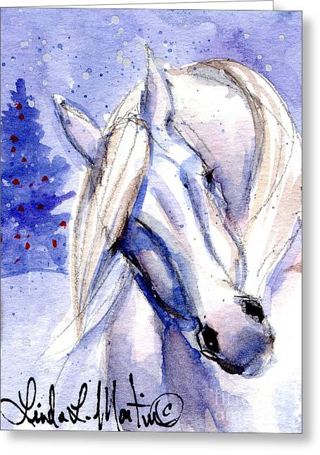 Snow Pony 1 Greeting Card