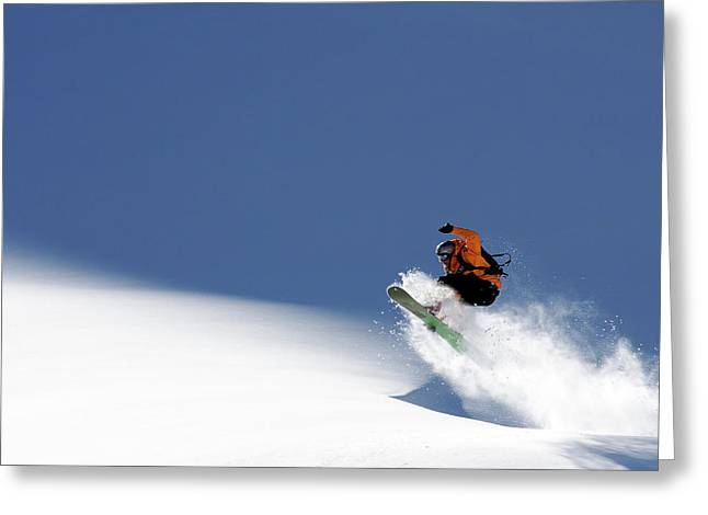 Snowboarder Greeting Card