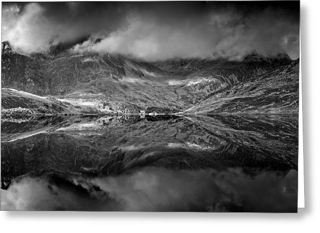 Snowdonia Greeting Card by John Chivers