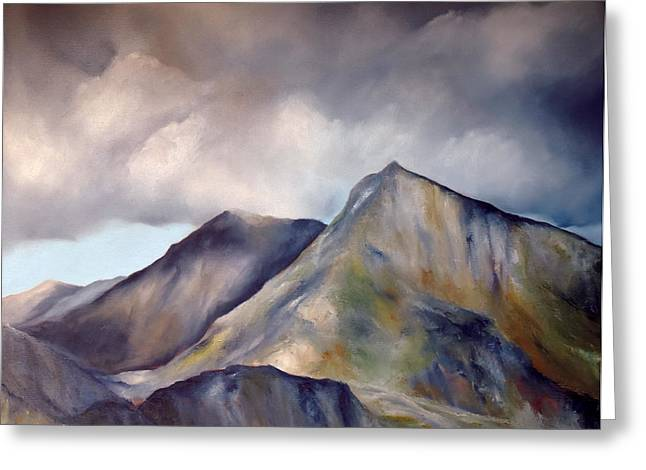Snowdonia  Greeting Card by Neil Kinsey Fagan