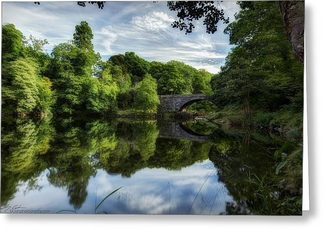 Snowdonia Summer On The River Greeting Card