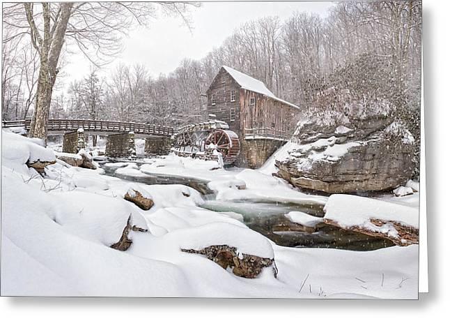 Snowglade Creek Grist Mill 1 Greeting Card