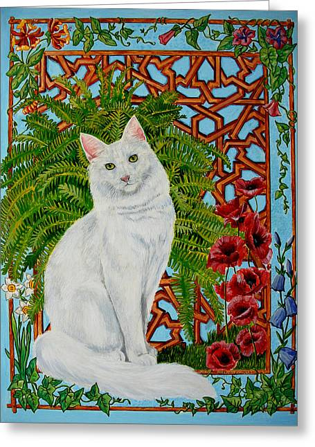 Snowi's Garden Greeting Card