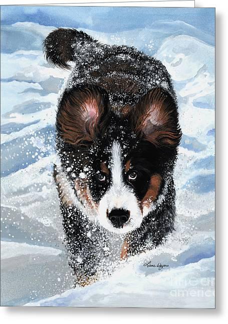 Snowplow Greeting Card by Liane Weyers
