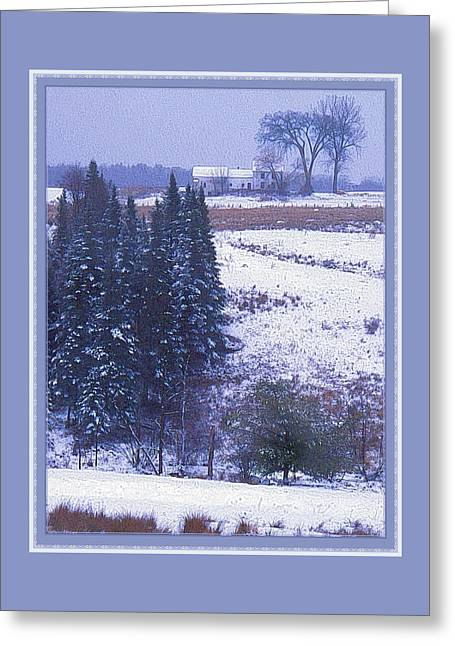 Snow's Arrival Greeting Card
