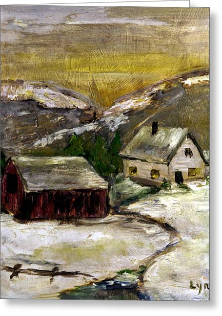 Red Barn Board Background For Acrylic Painting
