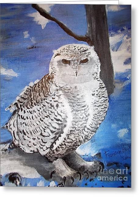 Snowy Owl . Greeting Card