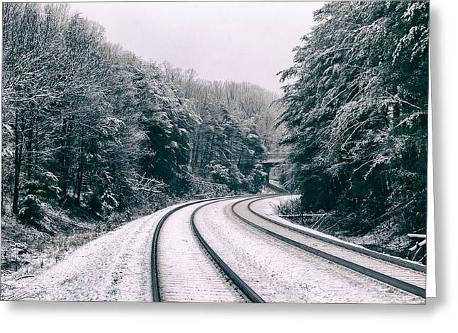 Snowy Travel Greeting Card