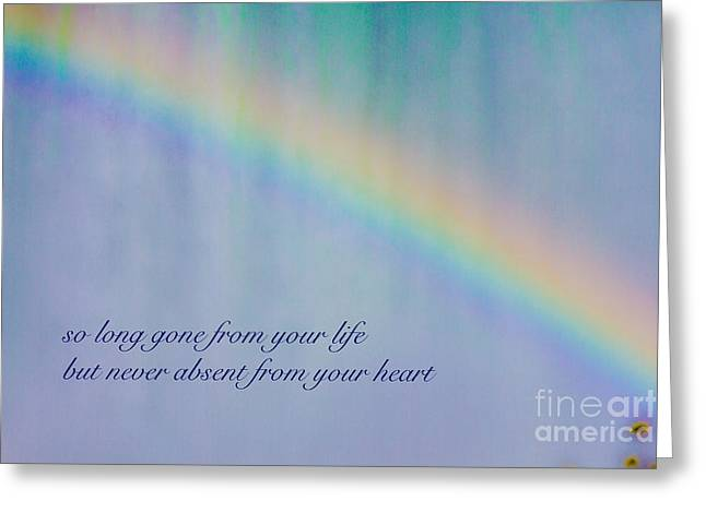 So Long Gone Greeting Card by Terry Weaver