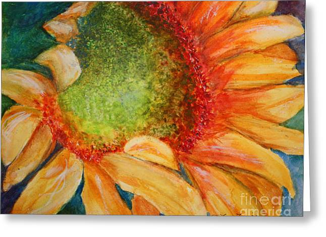 Soaking Up The Sun Greeting Card by Terri Maddin-Miller