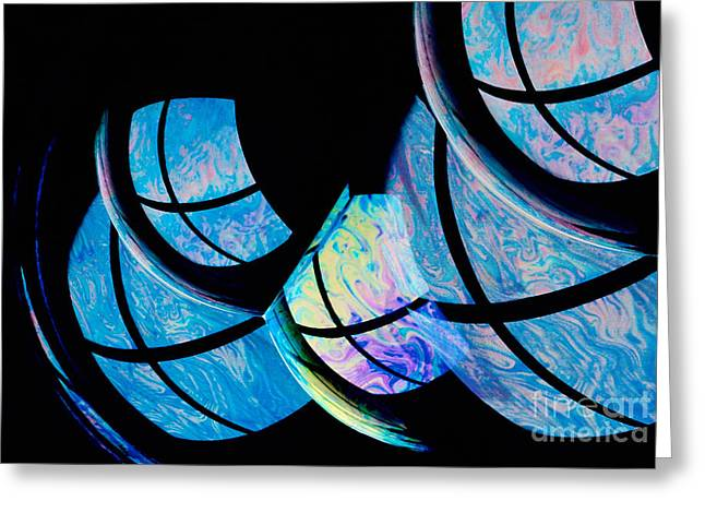 Soap Bubbles Greeting Card