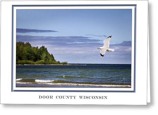 Soaring Over Door County Greeting Card