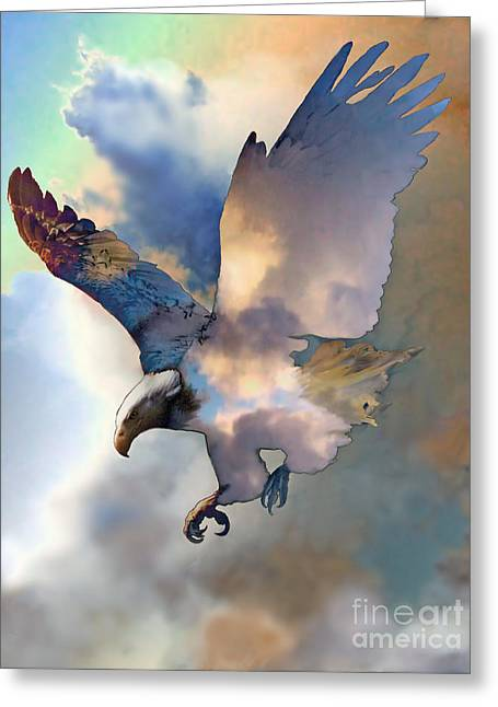 Soaring Greeting Card by Ursula Freer