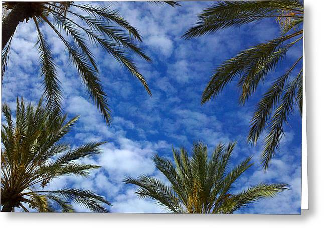 Greeting Card featuring the photograph So Cal Sky by Richard Stephen