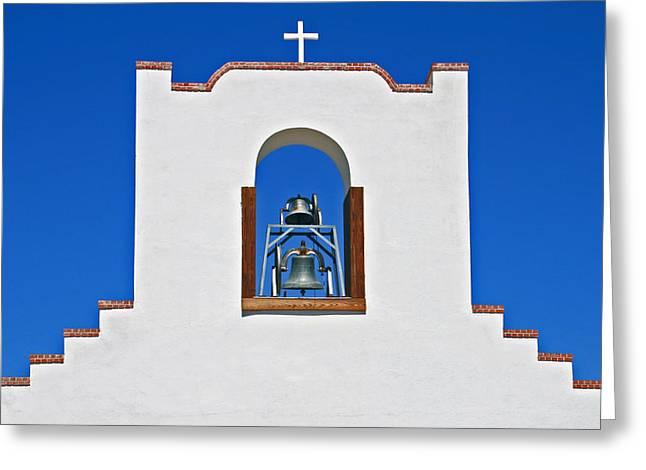 Greeting Card featuring the photograph Socorro Mission La Purisma by Kathleen Scanlan