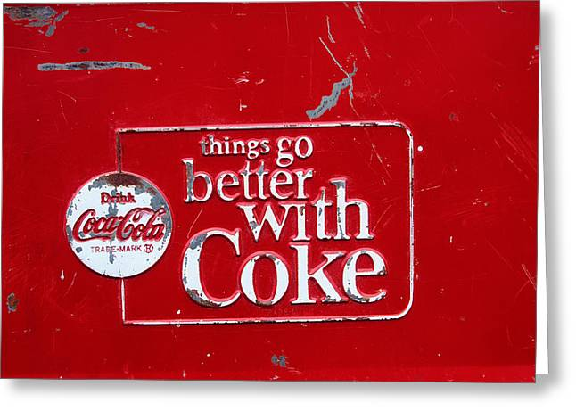 Soda Of Choice Greeting Card by Toni Hopper