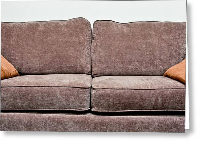 Sofa Greeting Card by Tom Gowanlock